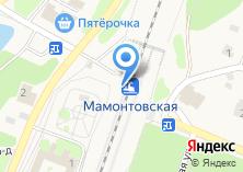 Компания «Мамонтовская» на карте