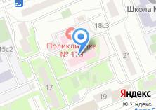 Компания «Городская поликлиника №175» на карте