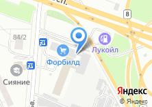Компания «Призма» на карте