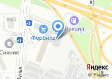 Компания «Северный город» на карте