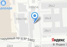 Компания «Mastech» на карте