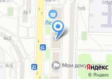 Компания «Эдара» на карте