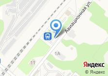 Компания «Авиационная» на карте