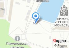 Компания «Храм-часовня Страстей Господних Николо-Угрешского монастыря» на карте