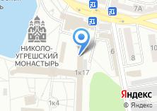 Компания «Николо-Угрешский монастырь» на карте