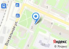 Компания «Оконикс» на карте