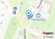 Компания «Строящийся жилой дом по ул. Писаревский проезд (г. Пушкино)» на карте