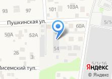 Компания «Мастерская по пошиву автомобильных чехлов на ул. Пушкина» на карте