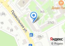 Компания «Привольная лавка» на карте