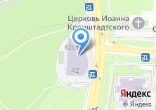 Компания «Спортивная школа №62» на карте