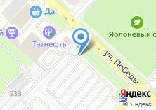 Компания «Автостоянка на ул. Победы» на карте