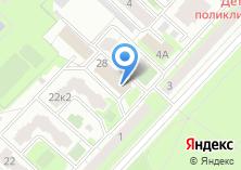 Компания «Kupiavtokreslo.ru» на карте