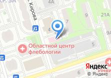 Компания «Инвита» на карте