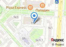 Компания «Московская Строительная Отделочная Группа» на карте