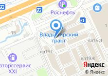 Компания «Магазин дверей и мебели» на карте