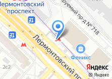 Компания «Станция Лермонтовский проспект» на карте