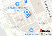 Компания «Элевел» на карте