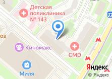 Компания «Мир мебели России» на карте