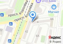 Компания «МСК» на карте