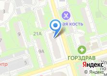 Компания «Satels» на карте
