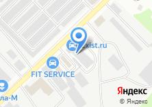 Компания «Берест» на карте