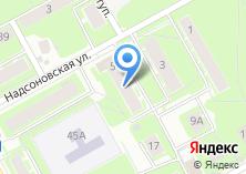 Компания «Мастерская оп ремонту одежды и обуви на Надсоновской» на карте
