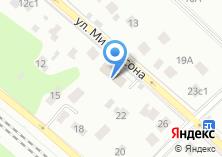 Компания «Почтовое отделение №111625» на карте