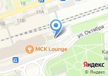 Компания «Мастерская по ремонту обуви и изготовлению ключей на ул. Октября» на карте