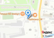 Компания «Мострансавто» на карте
