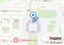 Компания «Средняя общеобразовательная школа №1024» на карте