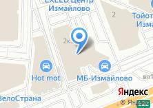 Компания «Мерседес-Бенц Измайлово» на карте