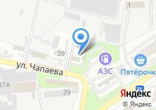 Компания «Диамонд С» на карте