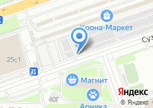 Компания «Енисей автостоянка» на карте