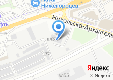 Компания «АМД» на карте