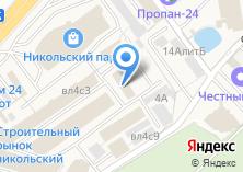 Компания «Палисандр» на карте