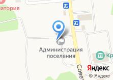 Компания «Администрация муниципального образования пос. Красный Яр» на карте