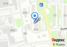 Компания «Миг-Авто» на карте
