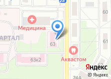 Компания «Городская поликлиника №2» на карте