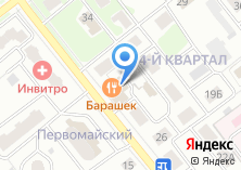 Компания «Цветочный» на карте