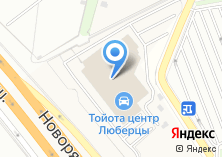 Компания «Тойота» на карте