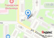 Компания «Рябинушка» на карте