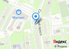 Компания «Импульс-М» на карте