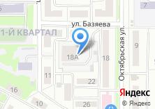 Компания «Президентский» на карте