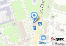Компания «Строящееся административное здание по ул. Дзержинского (г. Ивантеевка)» на карте