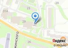 Компания «Московский областной архивный центр» на карте