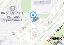 Компания «Строящийся жилой дом по ул. Защитников Москвы проспект» на карте