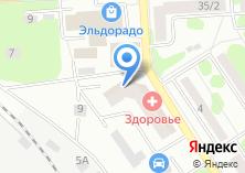 Компания «Регион-7» на карте