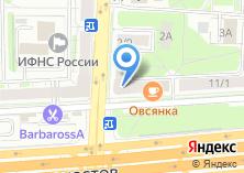 Компания «АМА» на карте