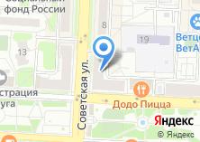 Компания «Нотариус Киселев А.В.» на карте