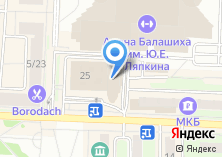 Компания «1С-Интерес» на карте